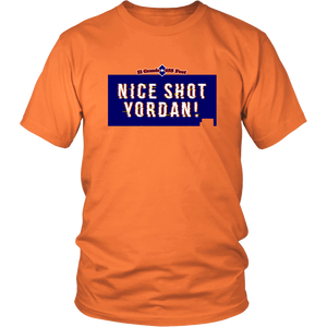 Yordan Alvarez Shirt - Nice Shot Yordan -  Houston Astros