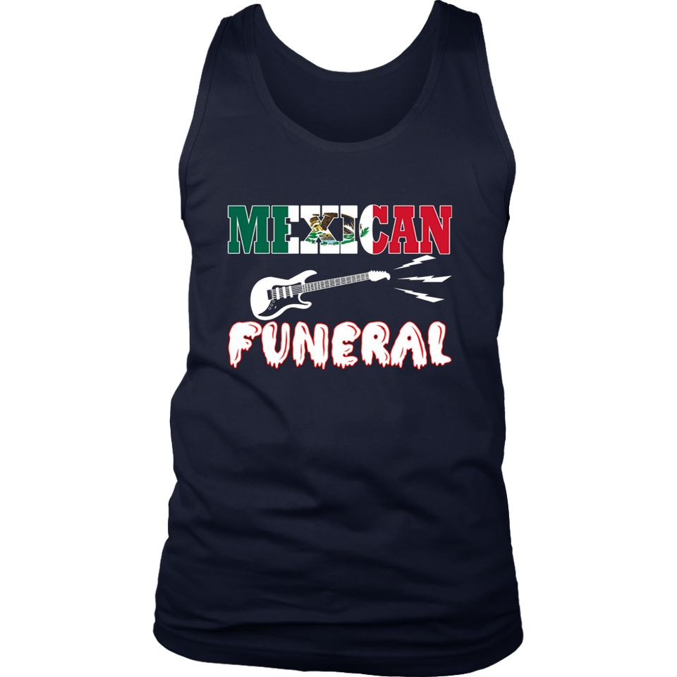 Mexican funeral Dirk Gently band tshirt1
