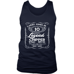 Chipper Jones The Legend T-Shirt - Apparel