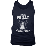 Come To Philly For The Crack T-Shirt Funny Philadelphia Tee Philadelphia Eagles