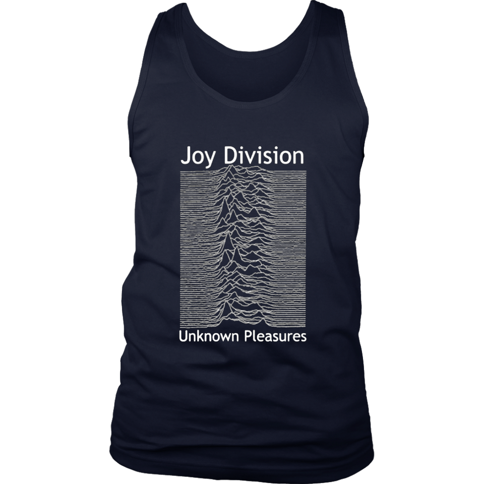 Impact Men's Joy Division Unknown Pleasures T-Shirt