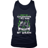 HURT MY DAUGHTER OR MY SON - NOT EVEN GOD CAN SAVE YOU FROM MY WRATH SHIRT DEVIL