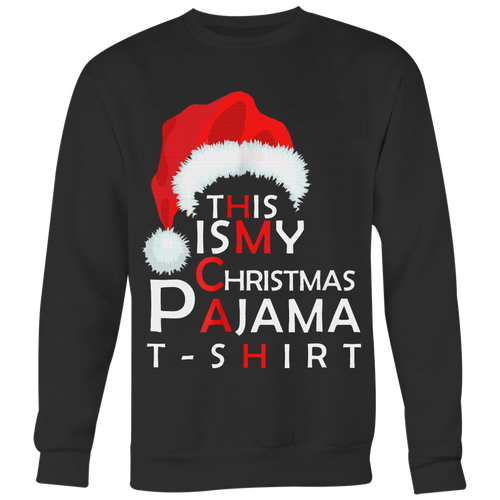 This Is My Christmas Pajama Shirt Funny Christmas T Shirts