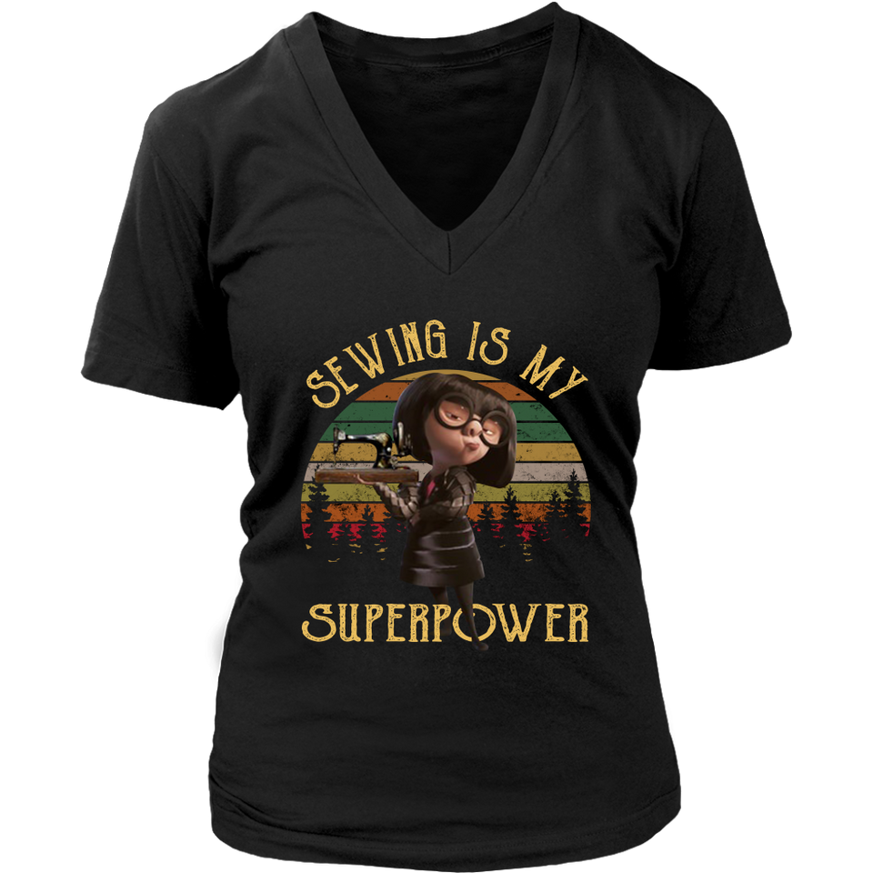 Edna Modec - Sewing Is My Superpower Vintage Shirt