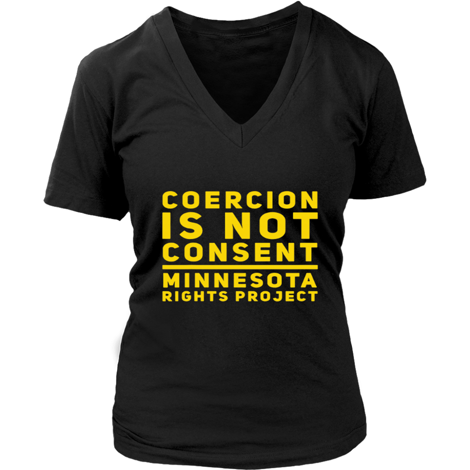 Coercion Is Not Consent T-Shirt
