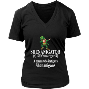 SHENANIGATOR Definition A person who instigates Shenanigans - FUNNY ST PATRICK SHIRT