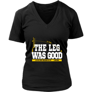 "THE LEG WAS GOOD SHIRT Greg ""The Leg"" Zuerlein - Greg Zuerlein - LOS ANGELES RAMS"