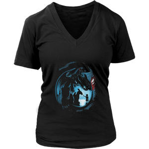 How to Train Your Dragon Toothless Night Fury T-Shirt