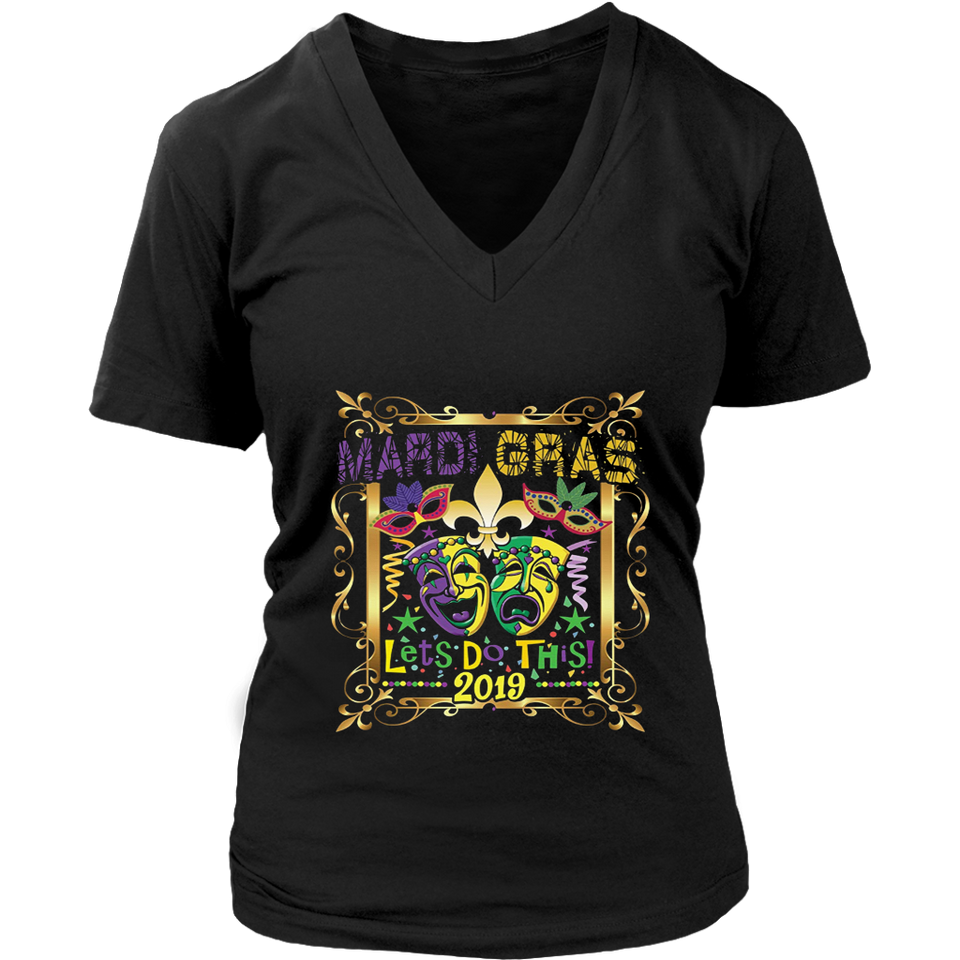 MARDI GRAS 2019 SHIRT, Fleur Lily New Orleans Parade Gift