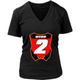 Motocross and Supercross Number 2 Tee Shirt Cooper #2 Webb