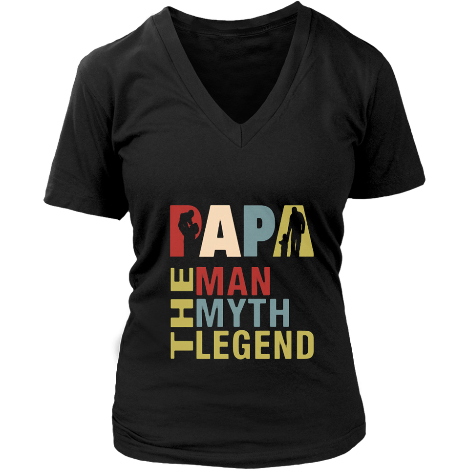 The Man The Myth The Legend Shirt for Mens Papa Dad Daddy T-Shirt