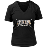 Tee-Metallica Skull-gift Worldwired-t shirt-tour