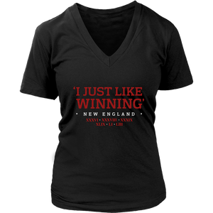 I JUST LIKE WINNING SHIRT- TOM BRADY -SIX-TIME CHAMPIONS   - New England Patriots SUPER BOWL LIII CHAMPIONS SHIRT