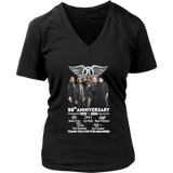 Aerosmith 50th Anniversary 1970-2020 Signatures Thank You For The Memories Shirt