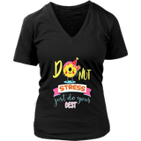 Donut Stress Just Do Your Best Teacher Tshirts