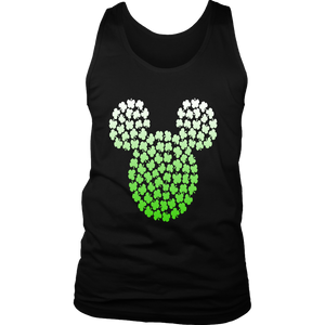 Disney Mickey Mouse Green Clovers St. Patrick's Day T-Shirt