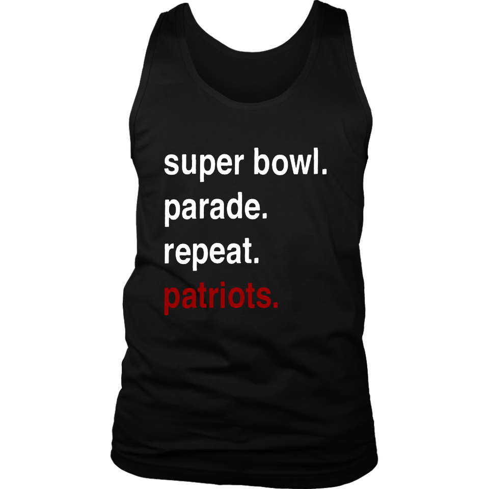 Super Bowl - Parade - Repeat - Patriots Shirt New England Patriots Super Bowl Championship 2019