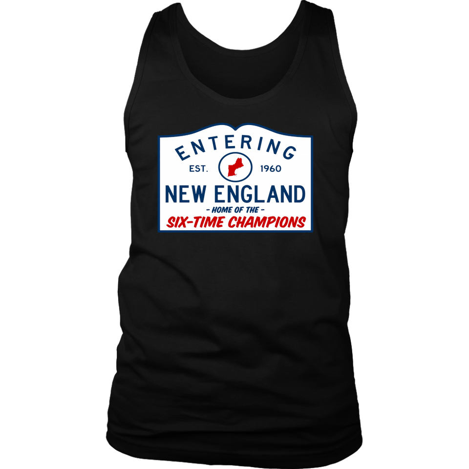 952b951f ENTERING NEW ENGLAND - HOME OF THE SIX-TIME CHAMPIONS SHIRT - New ...