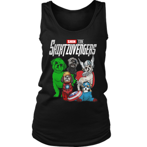 SHIHTZUVENGERS SHIRT SHIH - TZU  SHIRT Avengers EndGame Dog Version shirt