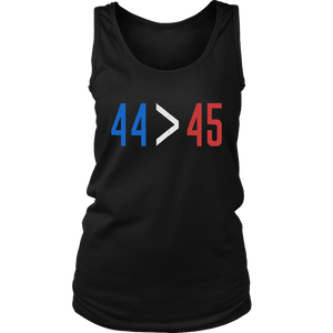 44 is Greater Than 45 T-Shirt for Midterm Election T-Shirt Steve Kerr - Golden State Warriors