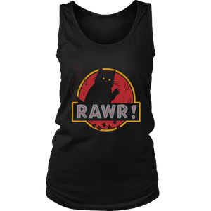 RAWR SHIRT FUNNY CAT AND THE JURASSIC WORLD