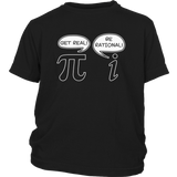 Get Real Be Rational Pi Funny Math Geek Sarcastic Adult Novelty Funny T Shirt