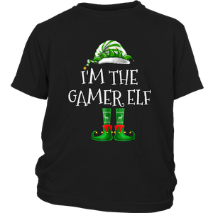 I'm The Gamer Elf Matching Family Group Christmas TShirt