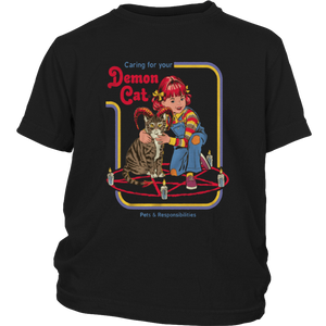 Caring For Your Demon Cat Shirt