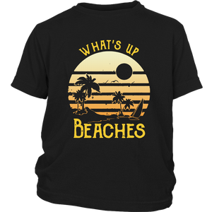 Whats Up Beaches Sunset shirt