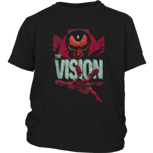 Marvel The Vision Retro Vintage Graphic T-Shirt