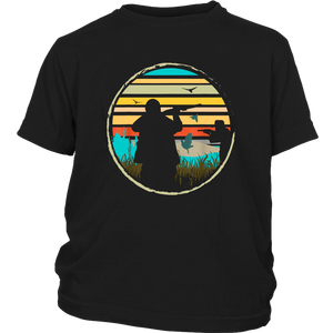 Hunting Vintage T Shirt Hunter Gift Ducks For Men
