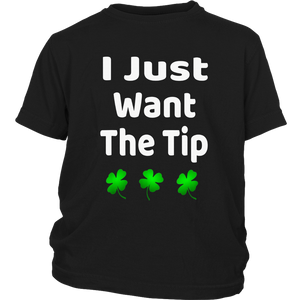 Bartender St Patricks Day Shirt Funny Just The Tip