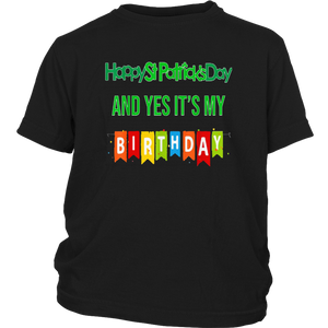 Lucky Happy St Patrick's Day And Yes It Is My Bday Tshirt