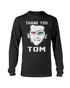 THANK YOU TOM SHIRT TOM BRADY - NEW ENGLAND PATRIOTS