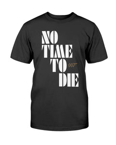 No Time To Die Shirt Billie Eilish - Bond 25 - James Bond - 007