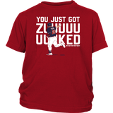 YOU JUST GOT ZUUUUUUUUKED SHIRT
