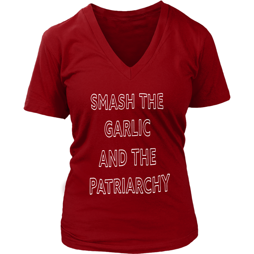 SMASH THE GARLIC AND THE PATRIARCHY SHIRT