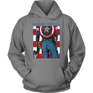 Born In The U.S.A - America's Ass Shirt Captian America - Advenger EndGame