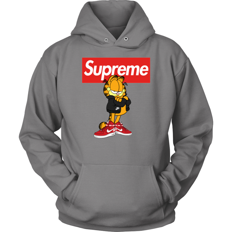 Garfield Supreme x Nike Logo Stay Stylish Shirt