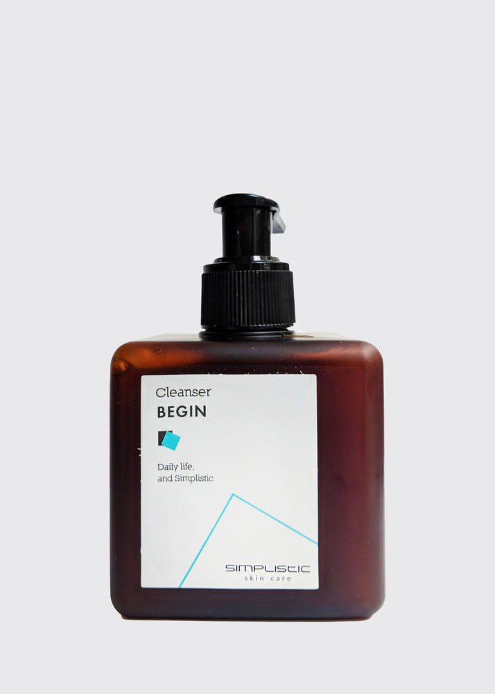 Simplistic Begin Cleanser