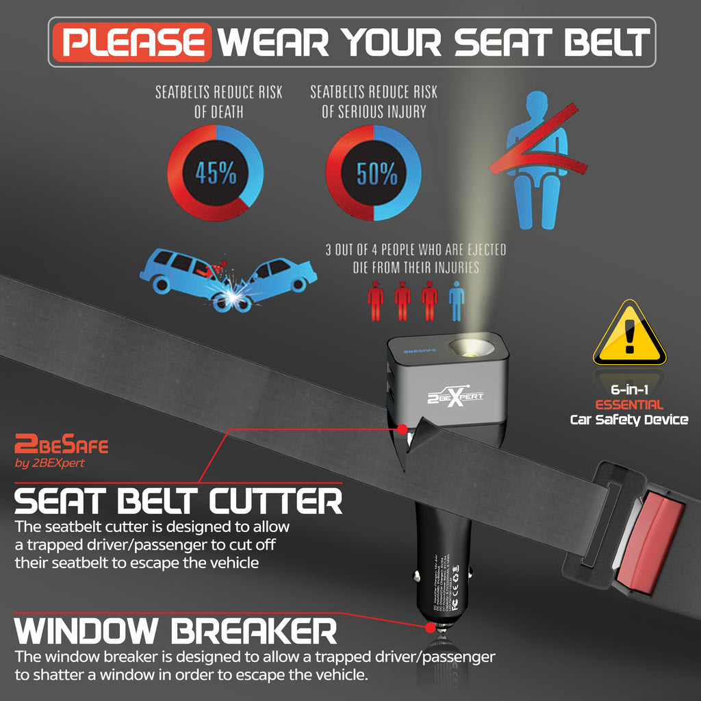 seat belt cutter and window breaker