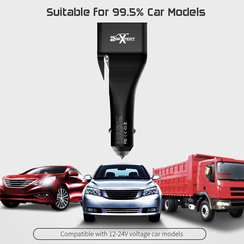 car charger compatible with almost all cars