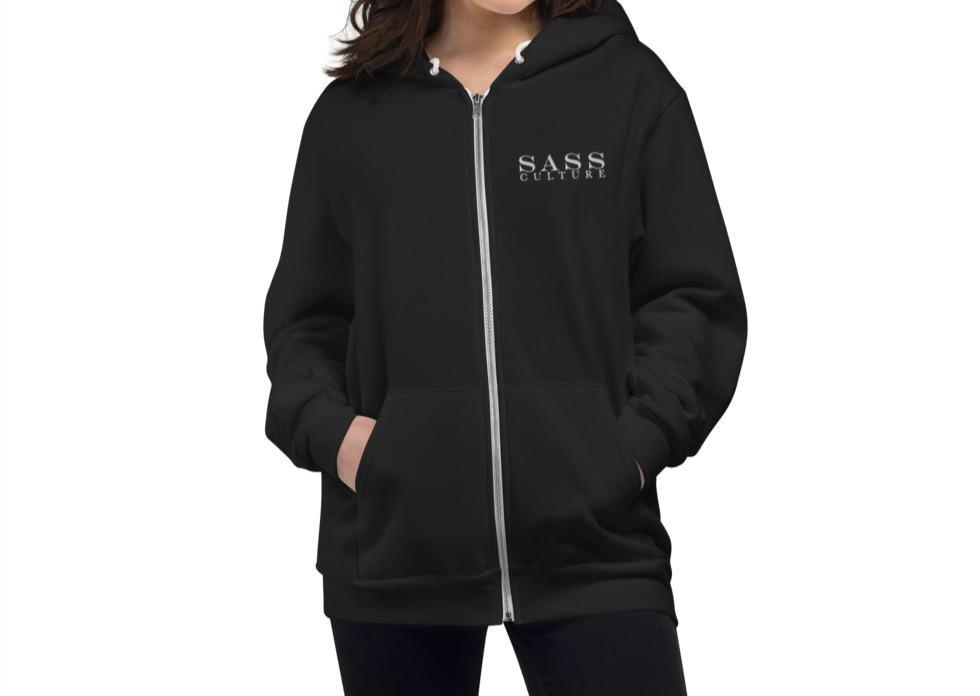 THE LAID- BACK ZIP HOODIE