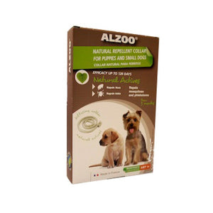 ALZOO Natural Flea & Tick Collar for Dog