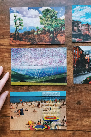 Art postcard pack - Landscape set