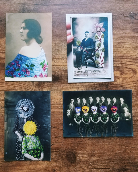 Art postcard pack - Portrait set