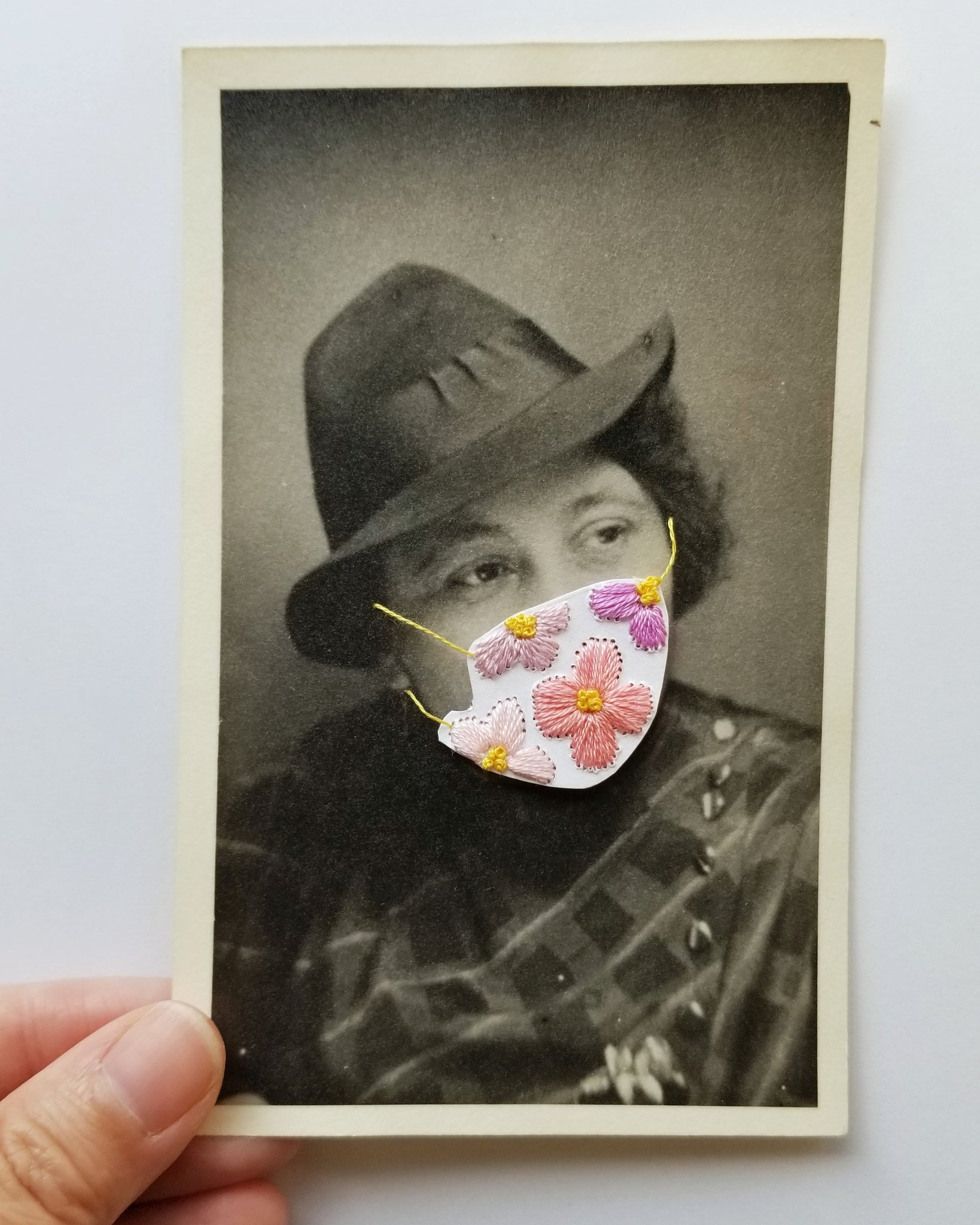 Quarantine Collection - Pt. 32,  Fedora and Florals