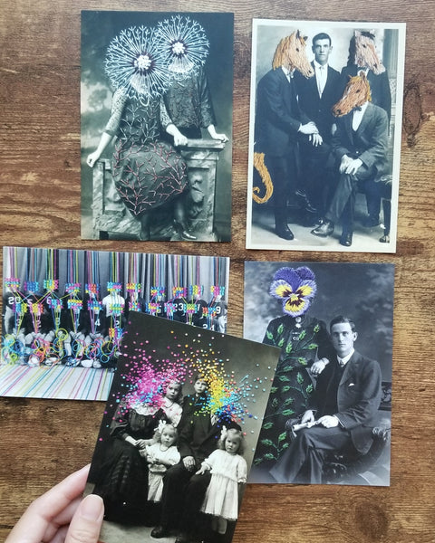 Art postcard pack - Portraits II