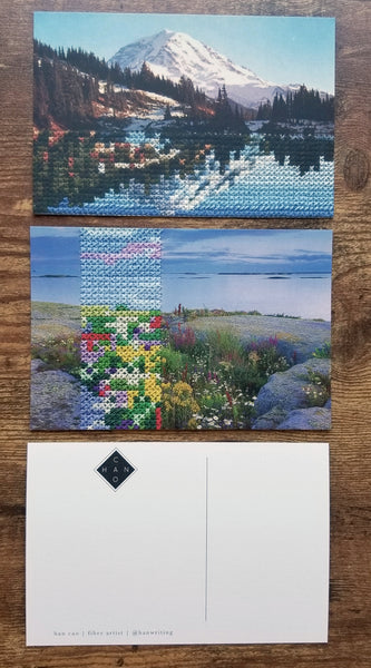 Art postcard pack - Landscape I