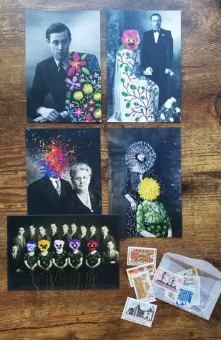 Art postcard pack - Portraits I